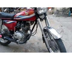 Honda 125 Red Color Reasonable Price New Battery Sale In Islamabad