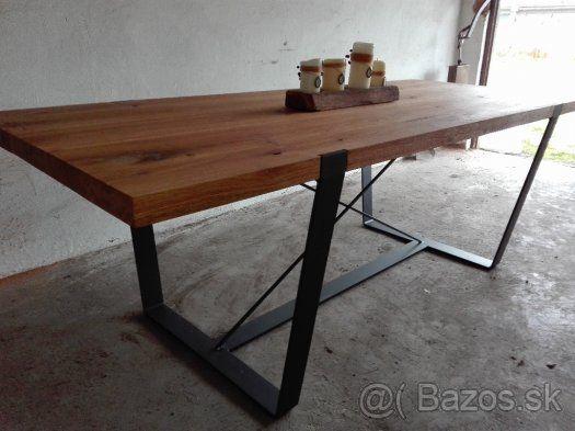 Handmade industriálny nábytok - 1