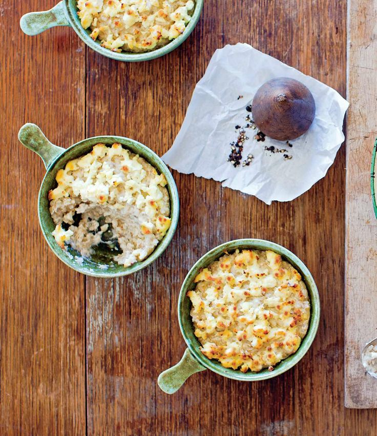 Buckwheat baked with cheese by Benny Roff from Borch, Vodka & Tears | Cooked