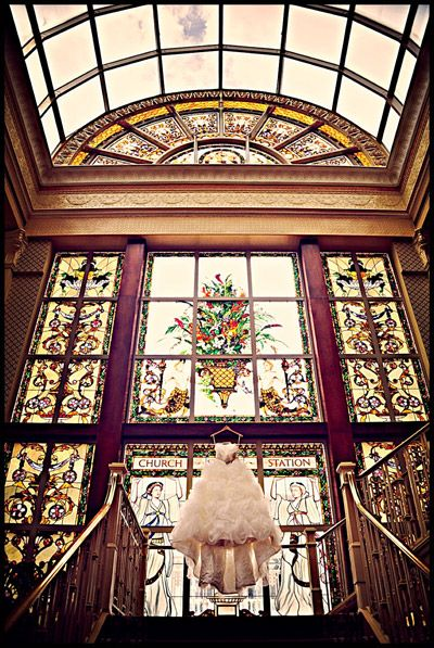 10 Must-Have Great Gatsby Wedding Details: a grand venue such as The Ballroom on Church Street | Photo: Misty Miotto Photography