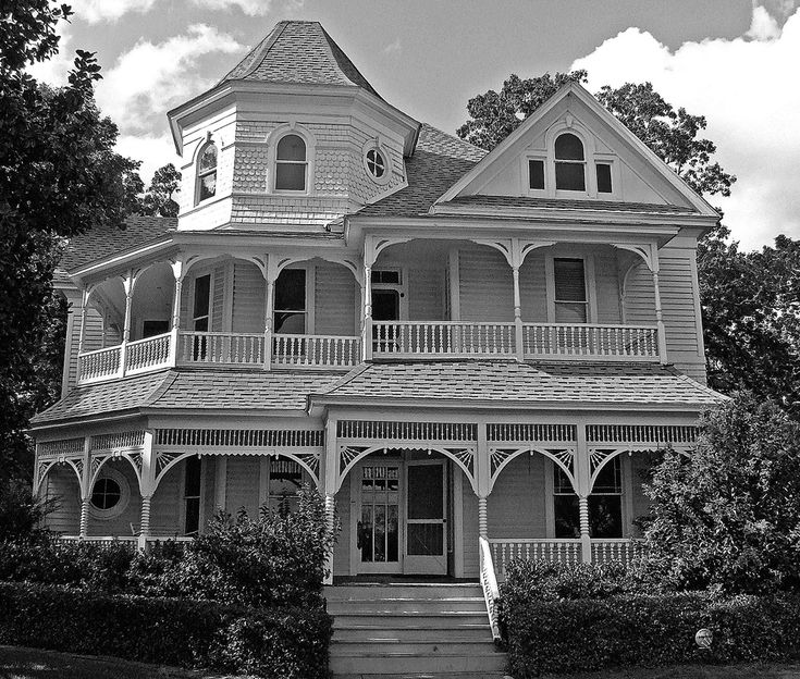 Porches Wrap Around Porches And Victorian On Pinterest: Architectural Home Styles