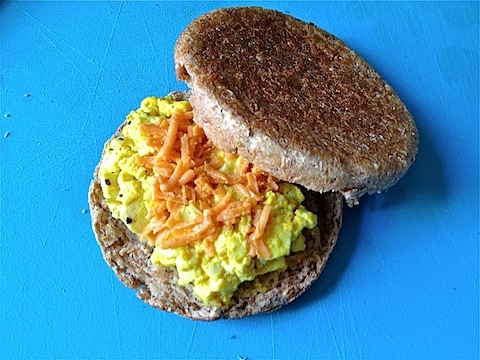 Vegan Egg + Cheese Sandwich... you won't know the difference!: Chee Recipes Jpg, Vegans Recipes, Cheese Recipe Jpg, Cheese Recipes, Vegetarian Recipes