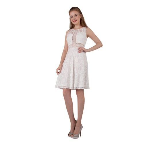This dress looks so striking in white but there are other colours too.
