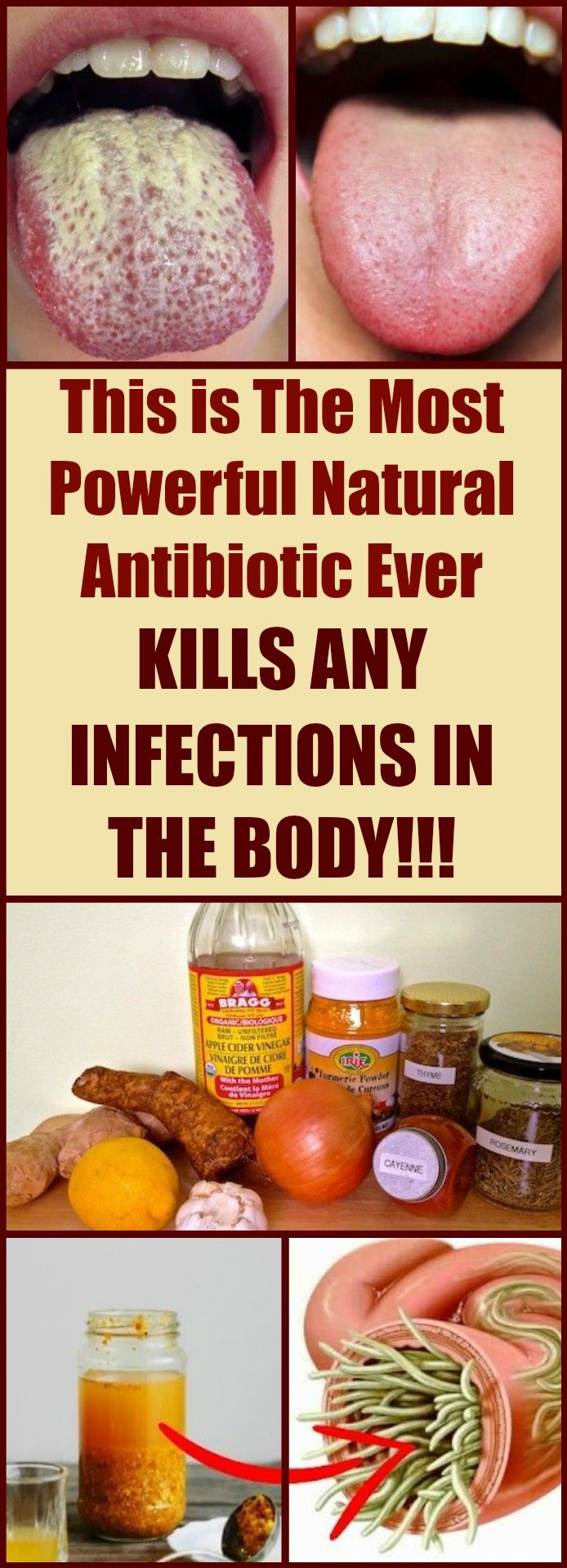 This is the most #powerful natural #antibiotic ever. KILLS ANY #INFECTIONS IN THE BODY!!