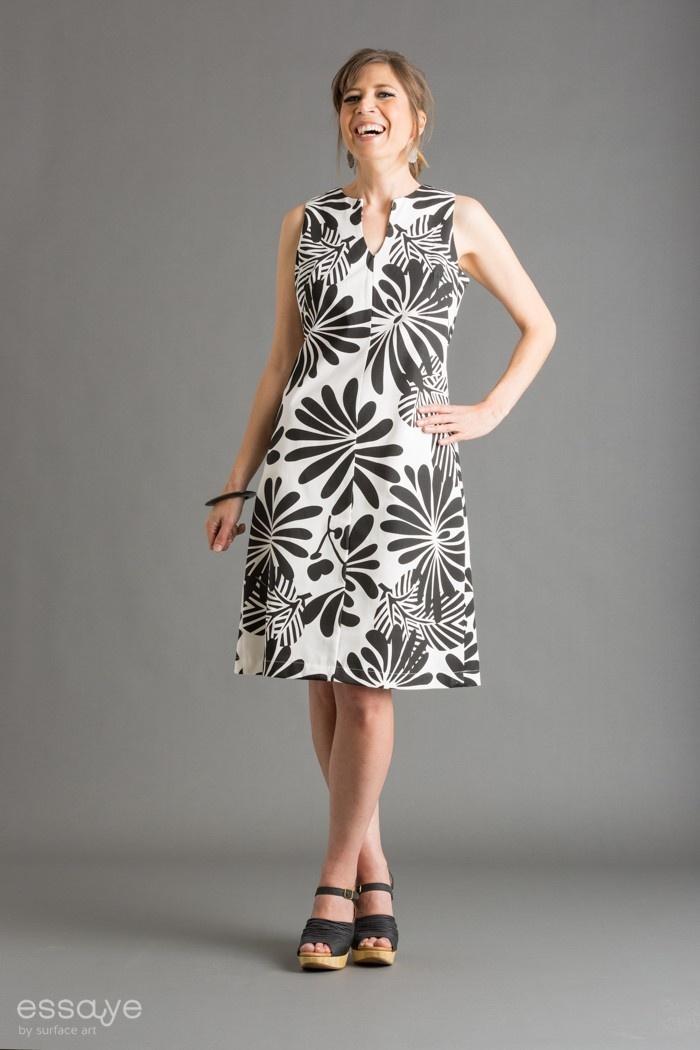 Surface Art - Tunic Dress - Japanese floral (black/bleach), $175.00 (http://www.surfaceart.com.au/tunic-dress-japanese-floral-black-bleach/)