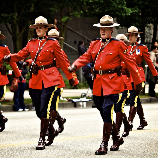 RCMP on Canada Day