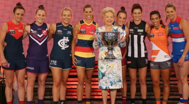 AFL womens inaugural captains 2017