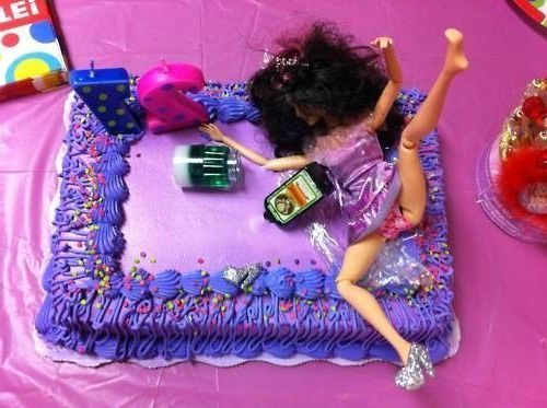 sexy birthday cakes for women | Funny birthday cakes for girls