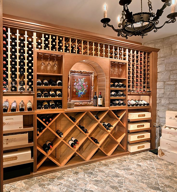 Lake Geneva WI wine cellar features tasting