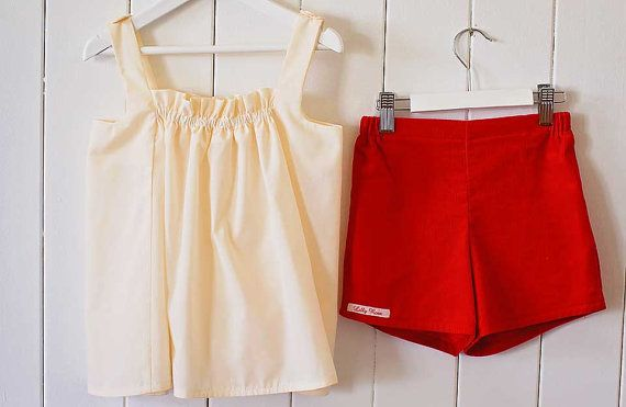 Hey, I found this really awesome Etsy listing at https://www.etsy.com/listing/204532187/lilly-rose-girls-shorts-with-side