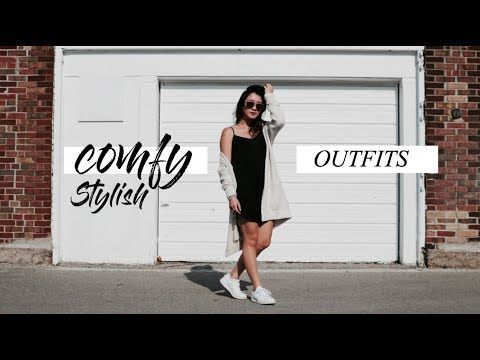 COMFY STYLISH OUTFITS   getawei - YouTube