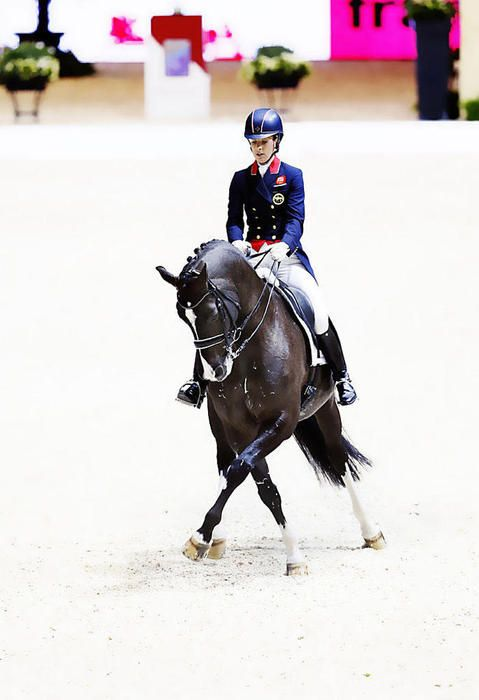 FEI World Cup Finals Lyon 2014   Charlotte Dujardin-GBR-  Valegro-kwpn   Toffi Images