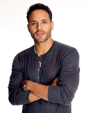 Graceland's Daniel Sunjata (a.k.a the guy who did full-frontal on Broadway.) ** WARNING: Do not read his Twitter account or be prepared to be turned off. **
