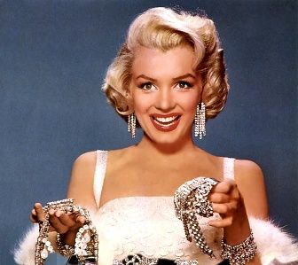 I love #Marilyn and #diamonds