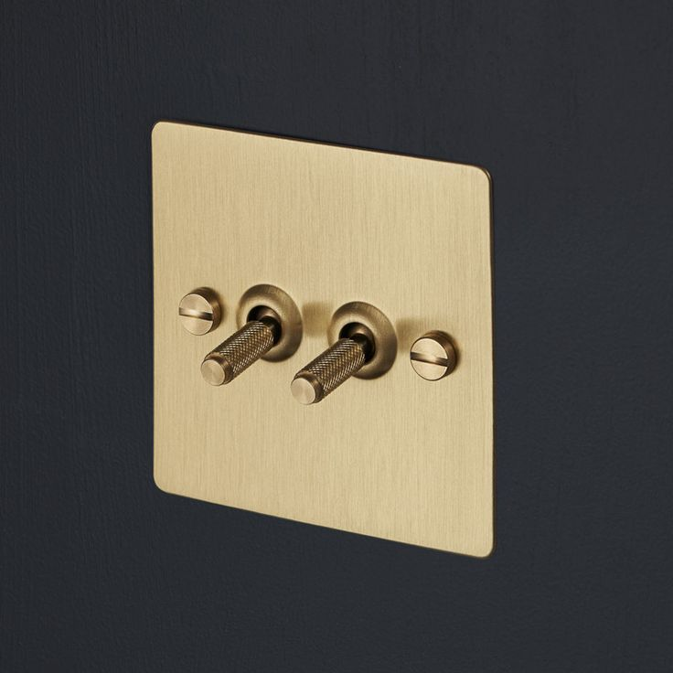Light Switches - Brass | Buster + Punch
