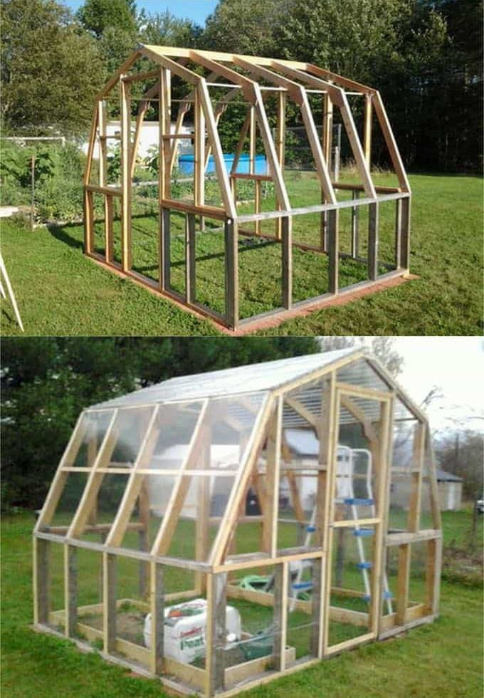 42 Best Diy Greenhouses With Great Tutorials And Plans Diy