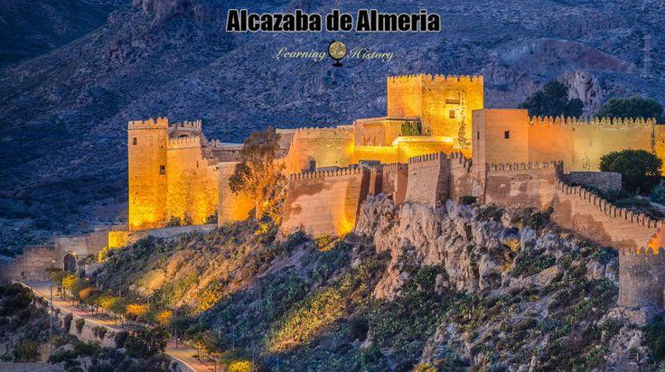 Alcazaba de Almeria: Medieval Fortification in Spain #history | via @learninghistory