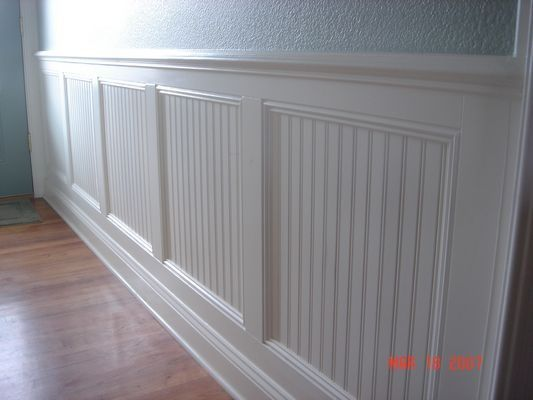 Wainscoting dining room for the home pinterest for Dining room paneling