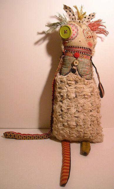 Nettie | Art Doll by junker jane