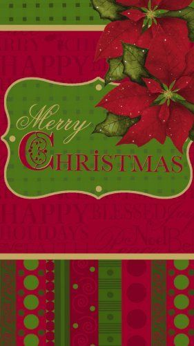 Set of 2,Guest Towel Size Paper Napkin,Traditions of Christmas by Evergreen. $10.99