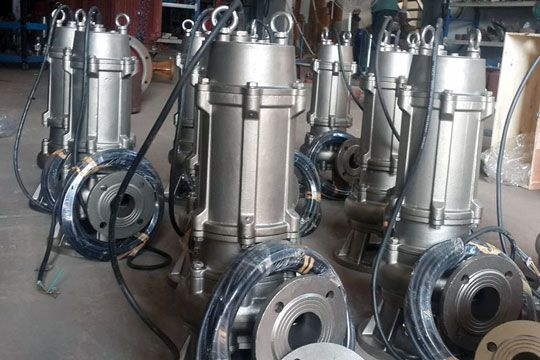 All stainless steel submersible sewage pump technology selection