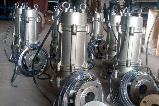 Mine sewage pumps for Sri lanka