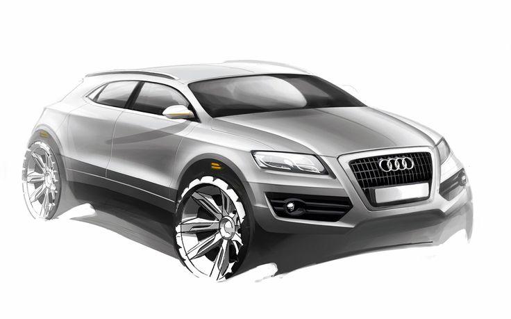 Audi Q5 - Design Sketch