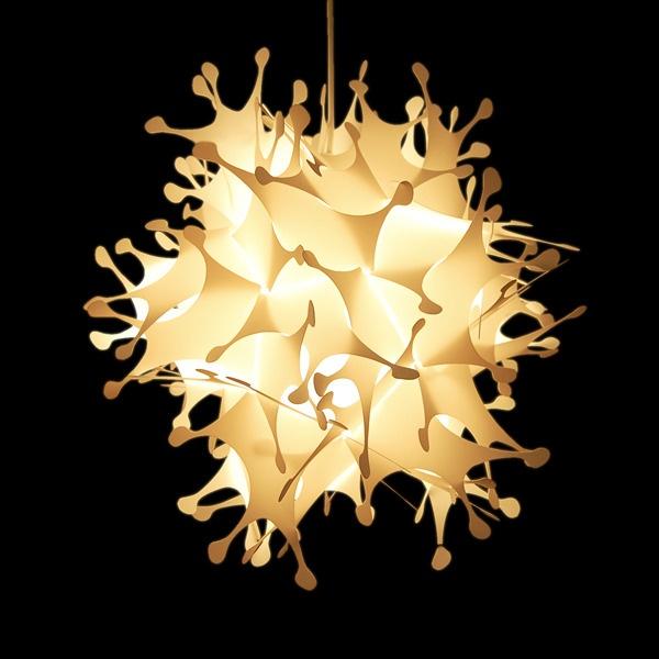 Ilumina esta semana corta con Splash, la lámpara construida en plástico, de gran diseño y estilo. Hecha de material lavable y muy fácil de armar. Origen: Argentina. $57900