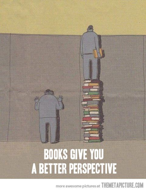 The power of books…