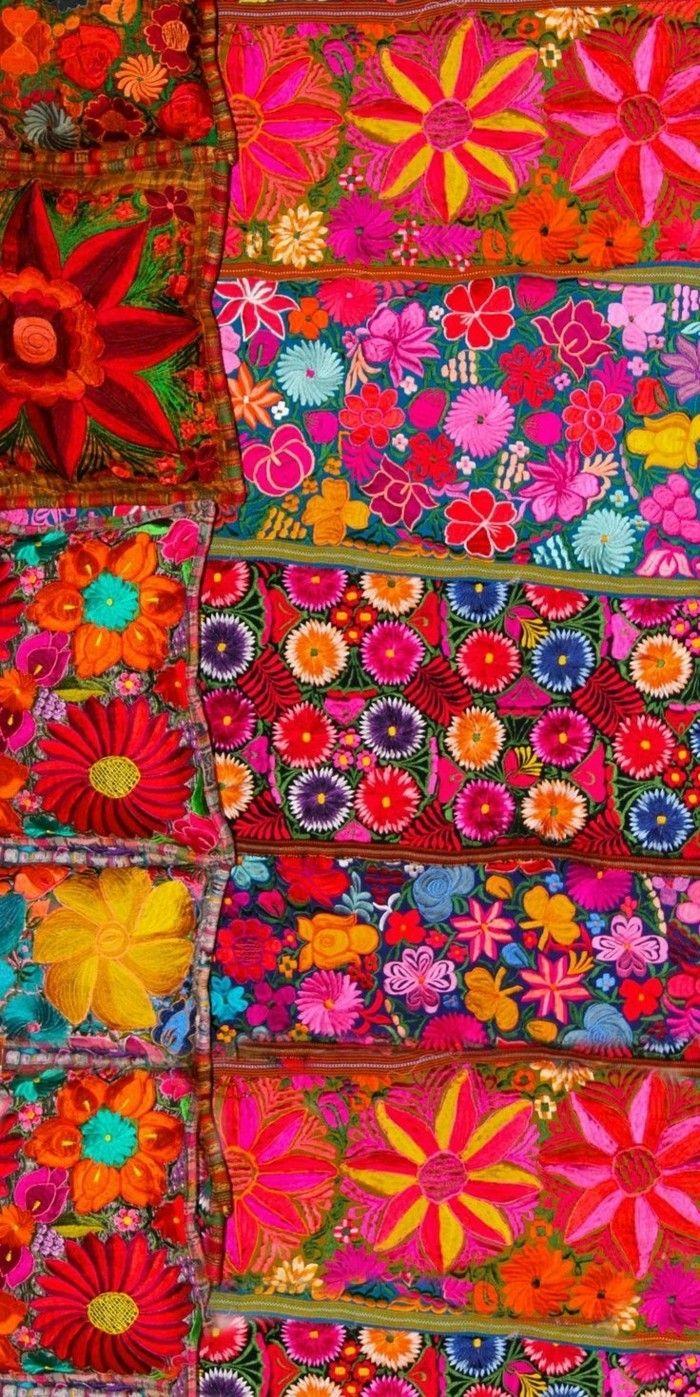 die besten 25 mexikanische textilien ideen auf pinterest. Black Bedroom Furniture Sets. Home Design Ideas