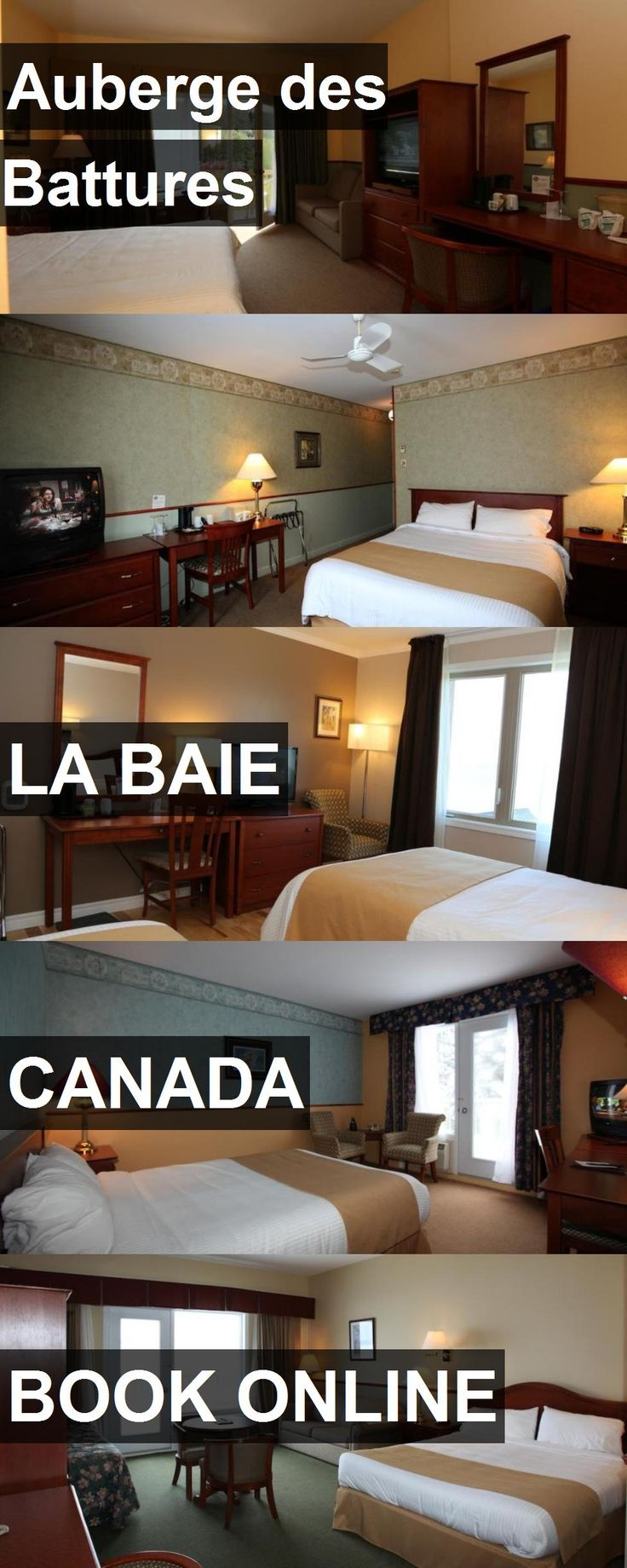 Hotel Auberge des Battures in La Baie, Canada. For more information, photos, reviews and best prices please follow the link. #Canada #LaBaie #travel #vacation #hotel
