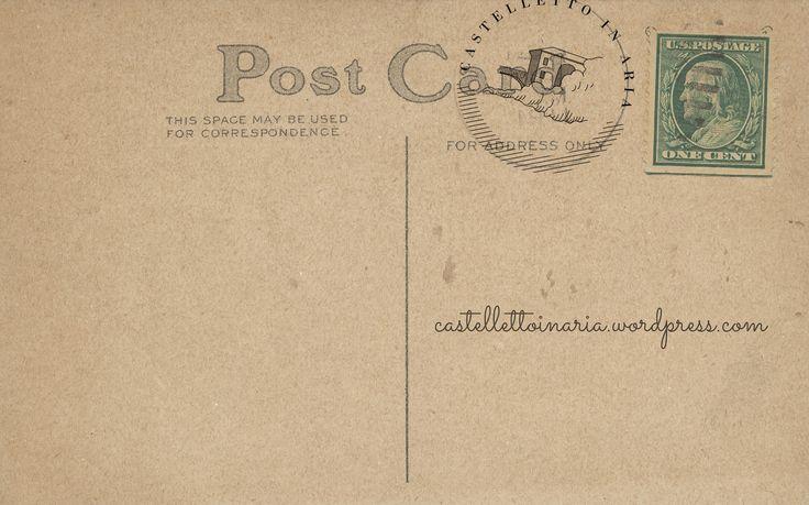 Post Card - castelletto in aria