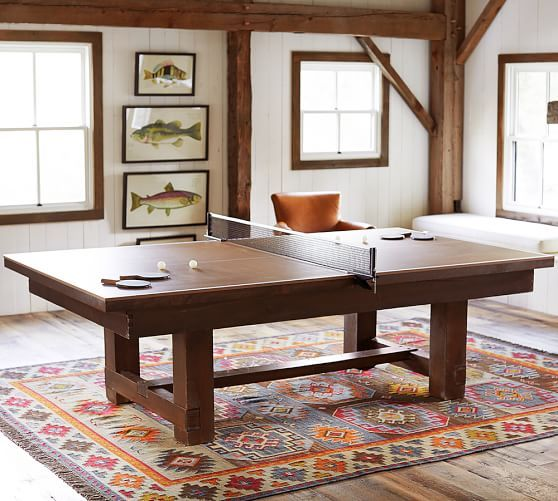 Table Tennis Cover for Pool Table | Pottery Barn