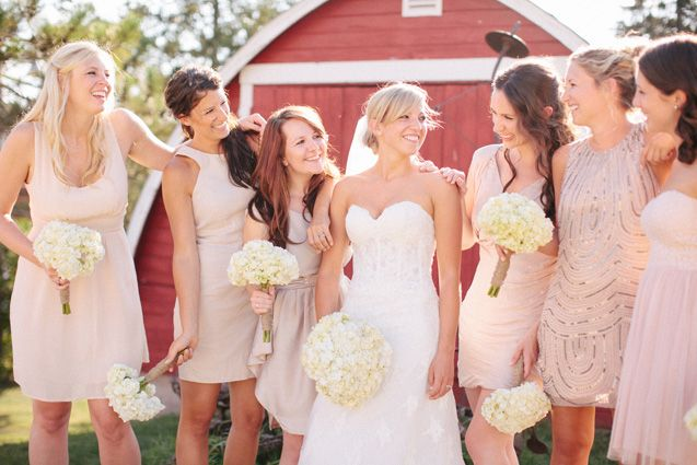 1000+ Ideas About Different Bridesmaid Dresses On