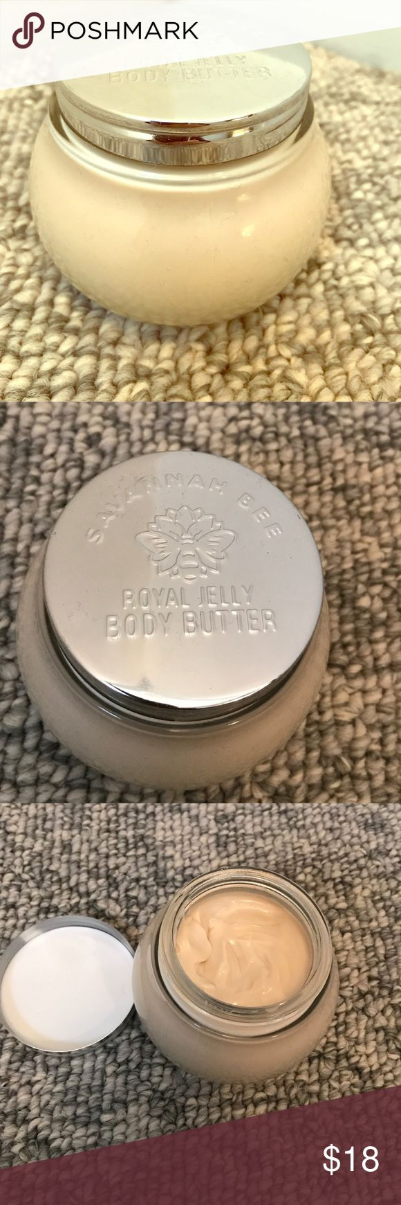 Savannah Bee Royal Jelly Body Butter Royal Jelly Body Butter. Hardly used. Great products, I just purchased the wrong one by mistake. Savannah Bee Makeup