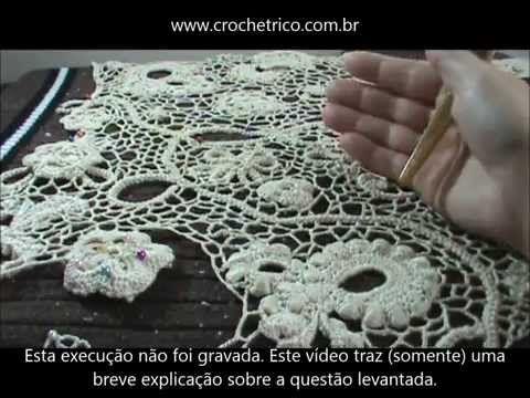 Crochê Irlandês - Irish Crochet