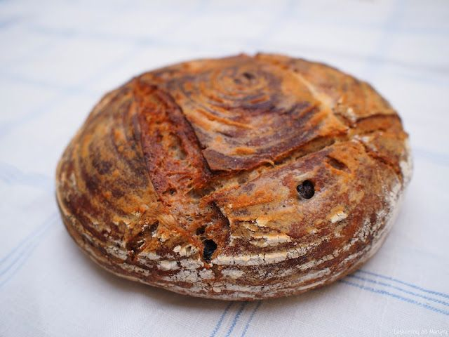 Laskominy od Maryny: Chléb s olivami a bylinkami
