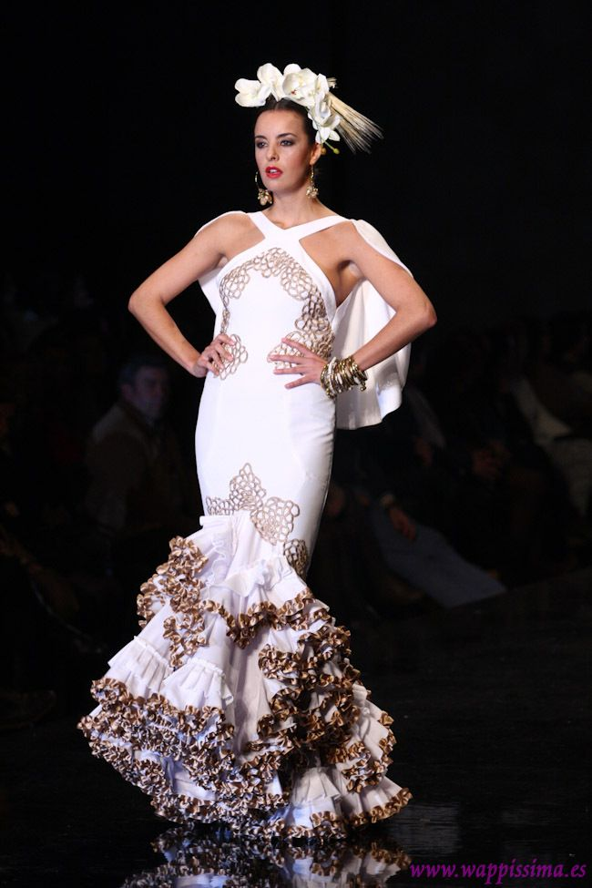 1779 best conjuntos images on pinterest flamenco dresses for Flamenco style wedding dress