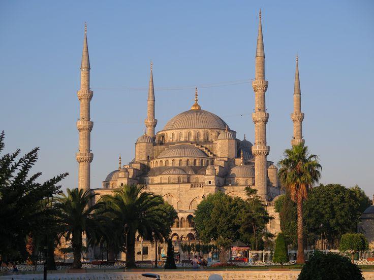 Hagia Sophia at Dawn in Istanbul