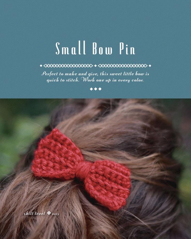 DIY: small bow pin