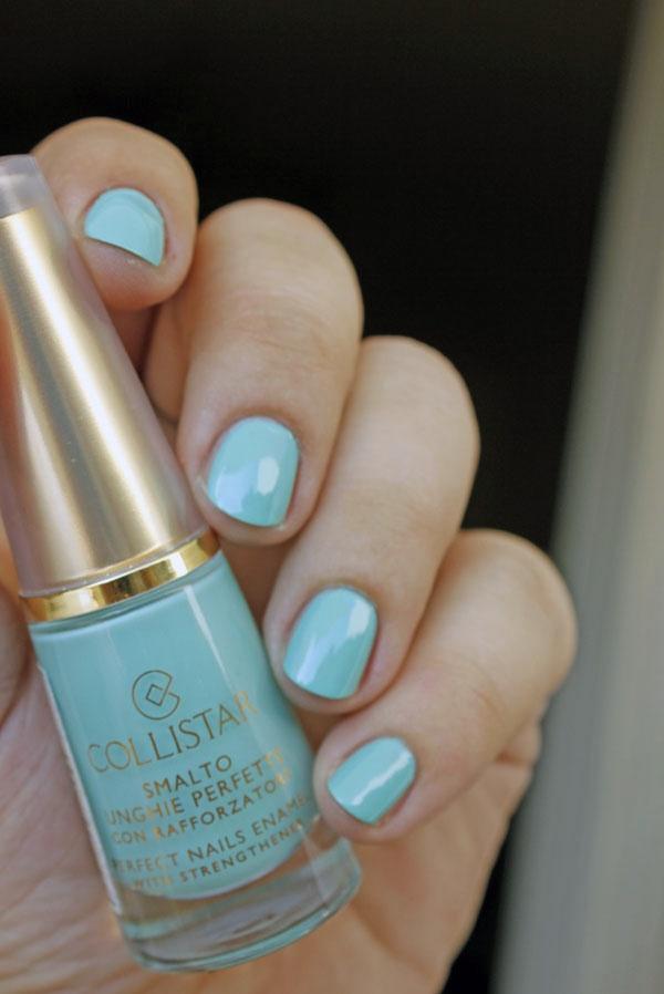 Collistar Perfect Nails Enamel no 74 Milk Mint Lacquer