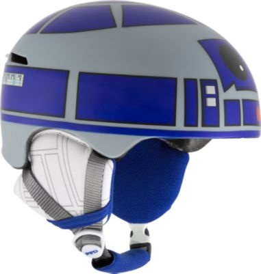 R2D2 helmet is not a bike helmet. It's actually a snowboard helmet. But it's still totally awesome.