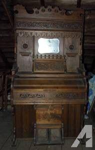Antique Cornish Pump Organ -- Piano Keyboard - $700 (Hudson)