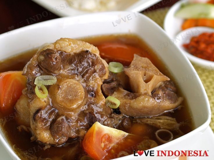 Resep Sop Buntut Spesial Ala Hotel Borobudur - Resep Mama Ku 01