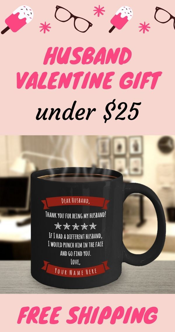 Valentines Gifts For Husband Personalized Husband Mug Funny Husband Coffee Mug In 2020 Valentine Gifts For Husband Valentine Gifts Husband Humor