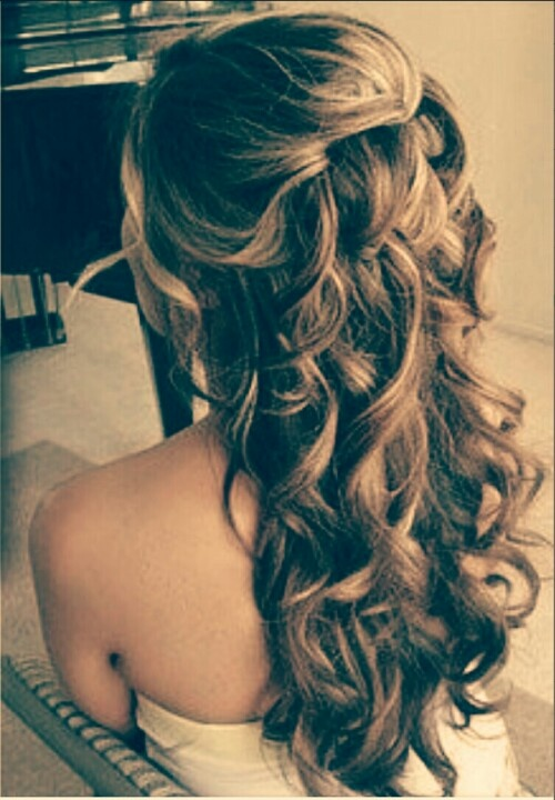 Thinking of doing something like this for my grad hair!!!