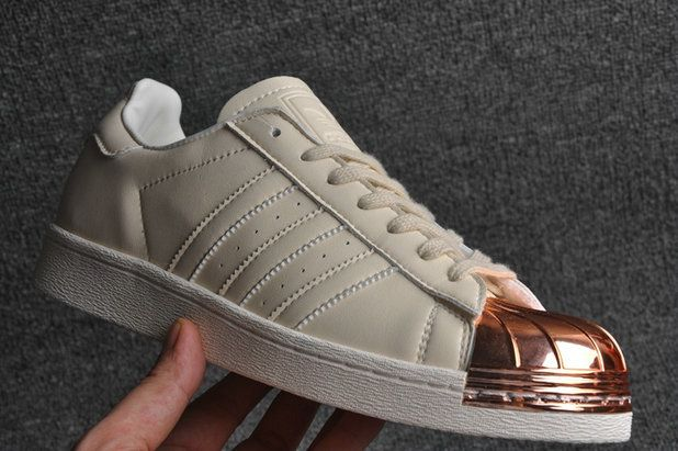 Adidas Superstar 80s Metal Toe Beige Khaki Liquid Bronze