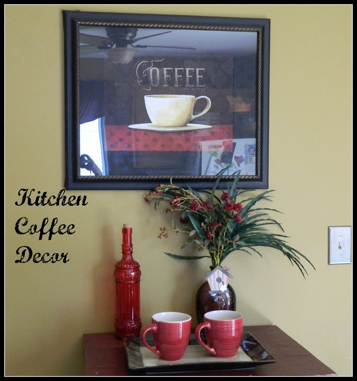 32 Best Coffee Themed Kitchen Decor Images On Pinterest