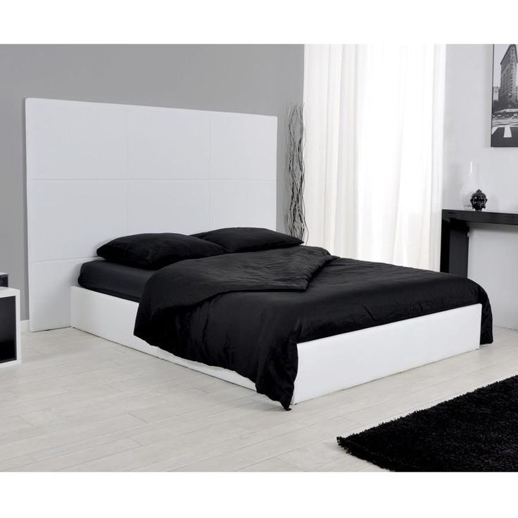 17 parasta ideaa lit coffre 140x190 pinterestiss lit 140x190 avec rangement sommier coffre. Black Bedroom Furniture Sets. Home Design Ideas