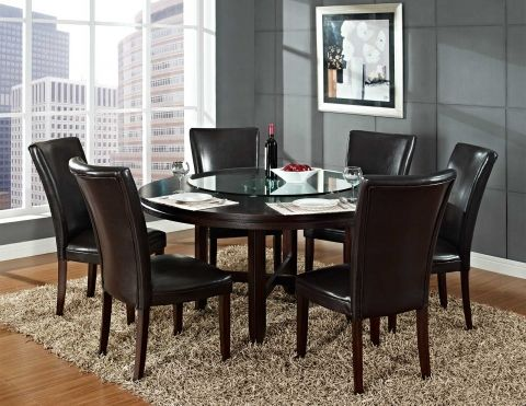 Hartford 62 steve silver company dining room for Dining room furniture manufacturers
